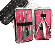 7PCS Nail Clippers Manicure Kits Within Star Pattern Manicure Bag(Random Color)