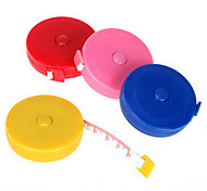 Classic Design Solid Color Tape Measure(Random Color)