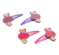 Kid's Rabbit Barrettes Hair Jewelry