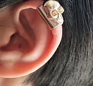 Shixin® Punk Skull Multicolor Alloy Clip Earrings(1pc)