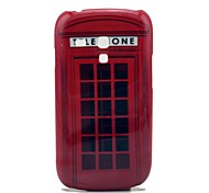 Famous Telephone Box Pattern Hard Cover Case for Samsung Galaxy S3 Mini I8190