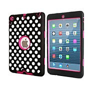 Wehrdienstleistende pc Silikonkombinationsfall für ipad mini 3, ipad mini 2, iPad Mini