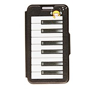 Kinston Dream of The Piano Pattern PU Leather Full Body Case with Stand for Motorala Moto X
