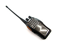 BAOFENG BF-A5 5W 400 ~ 470MHz Walkie Talkie w / Lanterna / Radio FM - Preto