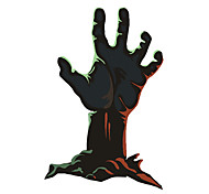 Black Hand Pattern Decorative Car Sticker