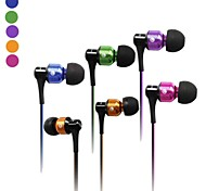 AWEI ES-50vi  3.5mm In-Ear Earphones With MIC 3 Accessories for Samsung Phones(Assorted Colors)