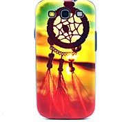 Beautiful Sun Setting Dream Catcher Pattern Hard Back Case Cover for Samsung Galaxy S3 I9300