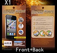 Protective HD Front + Back Screen Protector for Sony LT36H