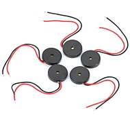 DIY 1303 Диаметр 13мм Пассивный Пьезо-сигнал для мобильного телефона / MP3 / MP4 (5 шт)