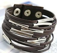 Fashion Punk Wind Leather Bracelet