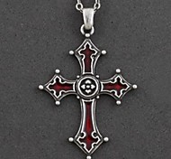 Fashion Night Cross Pendant Necklace