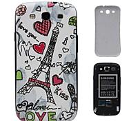 Romantic Torres dura de la PC de la batería de la cubierta de i9300 Samsung Galaxy S3