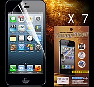 Protective HD Screen Protector for iPhone 4/4S(7PCS)