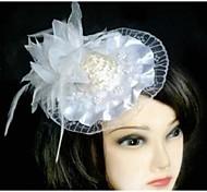 Fashion Lace Feathers Little Barrettes