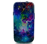 Leo Space Shining Star Pattern TPU Soft Case Cover for Galaxy S3 I9300
