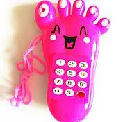 Elektrische Spieluhr Mobile Phone Fuß geformt (zufällige Farbe)