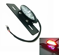 Motorcycle LED Rear Lights With a License Plate Lamp Function
