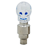 MOON Cool skull Series White Cycling Warning Light