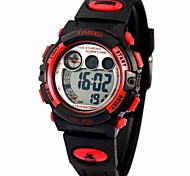 Time100 Children's Multifunctional Waterproof Digital Dial PU Band Outdoor Sport Electronic Watch