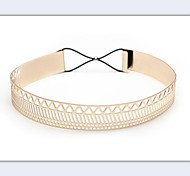 Women Wide Belt , Casual Alloy
