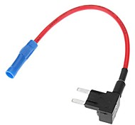 (5 piezas Tamaño: M) de la motocicleta o coche Add-A Interruptor Fusible de línea Plug Conector para Bombilla Lámpara auto Subwoofer
