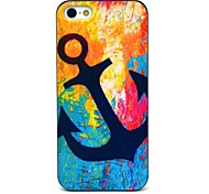 Caso duro Vintage Anchor Pattern for iPhone 5/5S