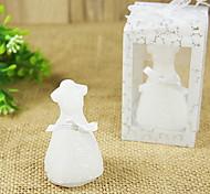 Casamento elegante e romântico vestido de Design Velas