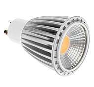 gu10 / e26 / e27 7w1cob 500 lm warme / kühle weiße Punktlichter AC220-240V (schwarz / grau)