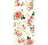 Hübsche Rose Blumenmuster Hard Case für HTC One 2 M8