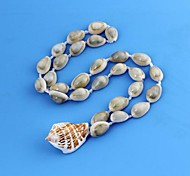 Unisex Conch Shell Pendant Shell Pattern Plastic Bracelet 1pc