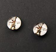 Cheap Eifle Tower Magnetic Earrings(1 Pair)