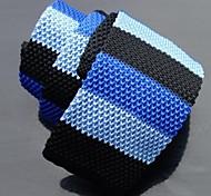 Moda Skinny Multi-colore maglia Cravatte 1pcs Uomo