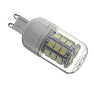 G9 LED Corn Lights T 30 SMD 5050 330 lm Natural White AC 110-130 / AC 220-240 V