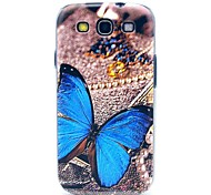 Beautiful Butterfly Pattern Hard Back Case Cover for Samsung Galaxy S3 I9300