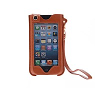 Kinston Luxury Full Touch Screen Style PU Leather Full Body Case with Stand for iPhone 4/4S/5/5S/5C(Assorted Colors)