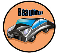 Beautiful Car Pattern Decorative Car Sticker