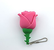 8GB Little Rose USB 2.0 Flash Drive