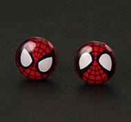 Pendientes de plata de la aleación dulce Spiderman (1 par)