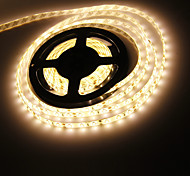 Imperméable à l'eau 5M 120W 300x5630 SMD chaud Lampe LED Strip White Light (12V DC)
