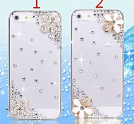 Cute Luxury Bling Crystal Diamond Hard Case Cover  for iPhone 5/5S (Assorted Colors)