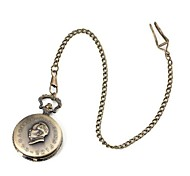 Unisex Mao Zedong's Birthday Pattern Metallic Pocket Watch (1pc)