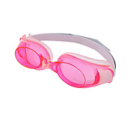 Unisex Silica Gel UV Protective Swimming Goggles - Pink