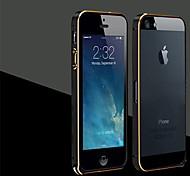 Toophone ® JOYLAND Goldrand Aluminium Bumper Rahmen für iPhone 5/5S (Farbe sortiert)