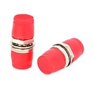 FC FC brida Conector del adaptador óptico acopladores 2 piezas