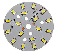 9W 800-850lm Cool White luz 5730SMD módulo de LED integrado (27-30V)