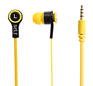 S-003 3.5mm In-Ear Bass Stereo Headphones for Samsung&iPhone&Sony&HTC Cell Phones&Tabs