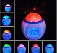 Timess™  LED Digital Starry Sky Projector Music Alarm Clock