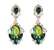 2014 New Spring Design Elegant Style Rhinestone Ladies Earrings Designs Pictures