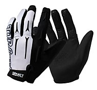 Glove Cycling / Bike All / Men's Full-finger Gloves Quick Dry / Breathable / Anti-skidding / Wearable / Shockproof / WearproofSpring /