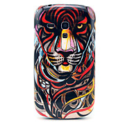 Angry Tiger Pattern Hard Back Cover Case for Samsung Galaxy S3 Mini I8190